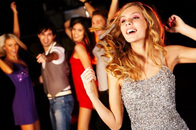 фото девушки на вечеринках